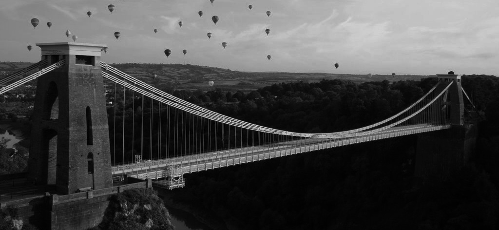 bristolsuspensionbridge_bw